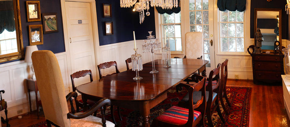 Lovely B&B dining room